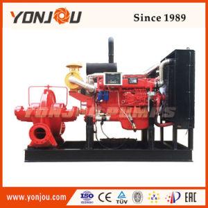 A bomba diesel de água de combate a incêndios
