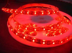Una striscia flessibile di 3528 SMD LED impermeabile con il tubo del silicone
