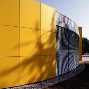 Los Sistemas de Revestimiento de pared exterior HPL anti UV, los paneles de pared Wind-Resistance