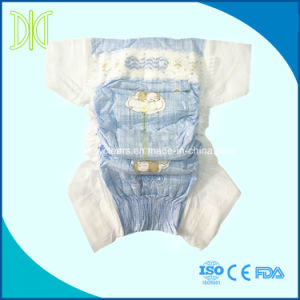 Cuide de fraldas para bebés descartáveis com abraço cós elástico