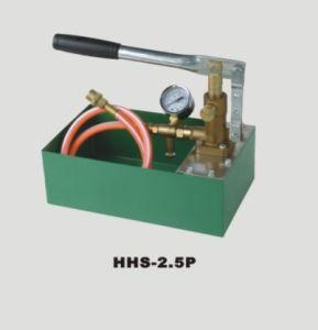 Essai de pression de pompe manuelle (HHS-2.5T-4.0HHS T-6.3HHS T)