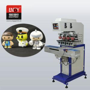 기계를 인쇄하는 수동 지혈전 금속이 4개의 색깔 밀봉 잉크 컵 패드 인쇄 기계에 의하여 4개의 색깔 장난감 차 LED 램프 값을 매긴다