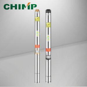 4つの 100qj10シリーズ深い井戸ポンプ、0.75-7.5kw試錐孔ポンプ