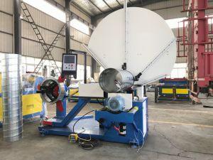 Macchina rotonda di alluminio elettrica dell'elica di spirale del tubo del condotto di aria per la formazione del tubo