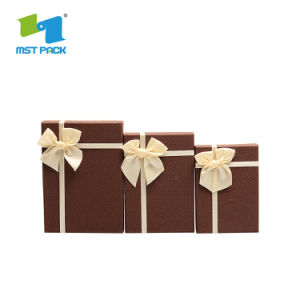 El cartón de lujo Regalos personalizados Impresión Creativa Embalaje Bombones de chocolate