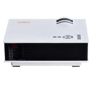 Mini-kino-Theater-Projektor UC40 des LED-Projektor-UC40+ 800 der Lumen-800*480RGB beweglicher LCD Haupt