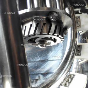 ステンレス鋼のミキサーが付いている鍋を調理する産業食糧真空のシロップ