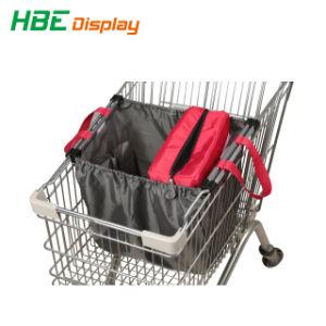 210d Saco de carrinho de compras de poliéster com saco térmico