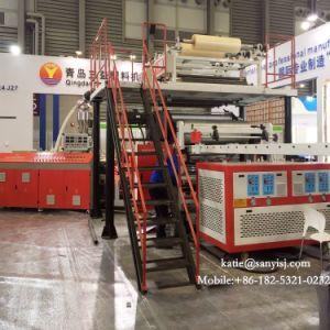 Revêtement de sol en vinyle imperméable en plastique Spc basé sur les revêtements de sol de la machine d'Extrusion