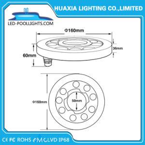 indicatore luminoso subacqueo della piscina di 27W LED per la fontana