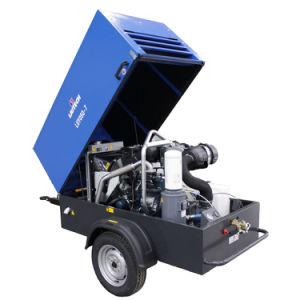 ディーゼル機関のKubotaエンジンを搭載する携帯用空気圧縮機