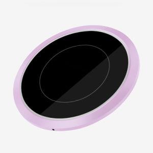 Новая Модель со сверхплоским корпусом сенсорной панели зарядного устройства беспроводного телефона зарядное устройство, совместимое устройство iPhone X iPhone 8/8 Plus Samsung Galaxy S9 / S9+/ S8/S8+ / S7 / примечание 8 и более