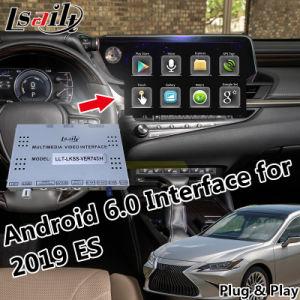 Plug & Play Android Market 6.0 Caixa de navegação GPS para 2019 Lexus Es Supprot Carplay Onlinemap Controle de Placa de Toque de OEM