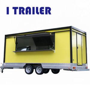 Mobile Verkauf-Nahrungsmittel-LKWas und -karren für Verkauf