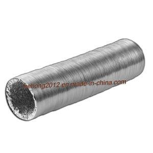 Flexible Aluminiumfolie-Wetterlutte u. Schlauch
