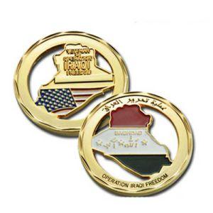 BSCIの専門のカスタム金の銀の金属の軍隊は旧式な記念品の硬貨に挑戦する