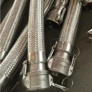 Edelstahl Corruaged flexibles Metalschlauch mit Befestigungen