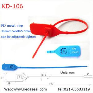 Hersteller-Behälter und Beutel-Sicherheits-Plastikdichtungen und Sicherheits-Dichtungs-Verschluss, Behälter-Dichtung (KD-106)