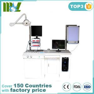 Professional Delux Operação única unidade de exame otorrinolaringológico, estação de tratamento otorrinolaringológico com preço barato Mslent03