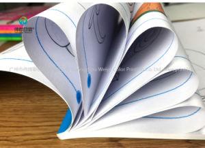 Nouveau mode de vente en gros d'arrivée à couverture souple, livre de coloriage imprimé personnalisé