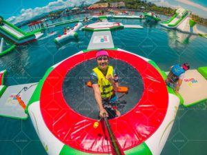 Adulto Comercial Parque Aquático flutuantes infláveis para venda