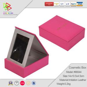 折る贅沢な化粧品Packaging ケースの構成Kit 虚栄心ミラーの構成のトレインケース(6003)