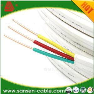 Bt 450/750V plano cobre/Round PVC elétrica/PE Fio Isolado