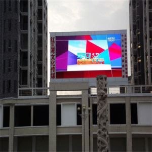 Pleine couleur extérieure Standard P8mmsmd Conseil de la publicité numérique DEL