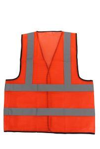 Alta visibilidade Hi Viz Yellow-Green Laranja colete reflector de segurança
