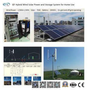Opzione Integrated della centrale elettrica di micro griglia: Mgs-2kw 1kw+1kw