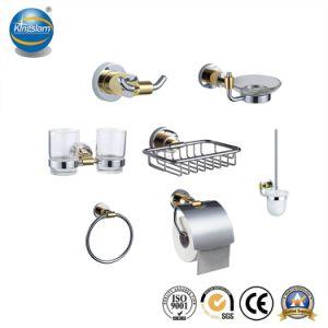 China accesorios de baño con wc Portaescobillas/Porta vasos/Titular de la jabonera