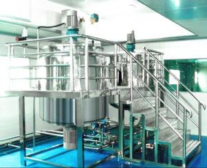 De vloeibare Homogeniserende Mixer van de Was voor Detergens