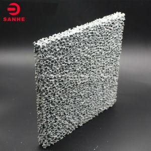 Forme carrée du carbure de silicium poreux Honeycomb mousse filtre céramique pour la coulée
