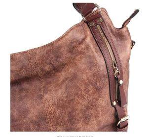 As mulheres Malas de senhora Ombro Hobo Bags Tote PU bolsas de couro sacos de grande capacidade de moda Senhora mala
