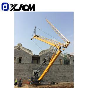 1t 2t 3t 4ton prédio de construção do veículo Dobrável Mini Mobile grua-torre
