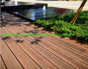 En el exterior impermeable carbonizado ambiental compuesto de tejido de hilo de la luz del piso de bambú