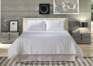 Hotel de lujo 100% Algodón Sábana conjunto de ropa de cama Ropa de cama