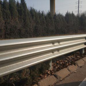 El tráfico vial Haz Galvanizedw barrera de bloqueo de metal barandillas