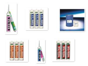 Dichtingsproduct het met hoge weerstand van het Silicone van de Adhesie voor Raad yt-930-5 van pvc