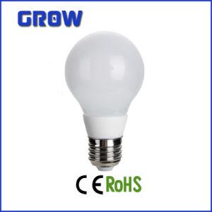 Aprovado pela CE A60 7W E27 Lâmpada LED de cerâmica (GR852-7W)