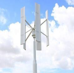 Turbina verticale a tre fasi di energia eolica di asse 20kw di CA 360V (SHJ-VH20K)