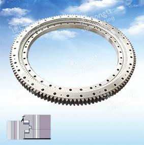 La norme européenne de la série de lumière /rouleau Three-Row anneau pivotant/pignon extérieur le pivotement