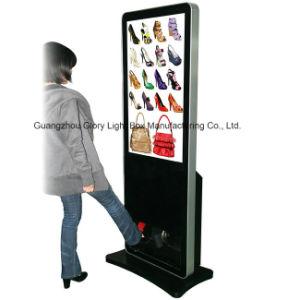 42  단화 광택기 전시 LCD 스크린 디지털 Signage
