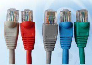 CCA varados cable CAT6 8p8c RJ45 moldeados