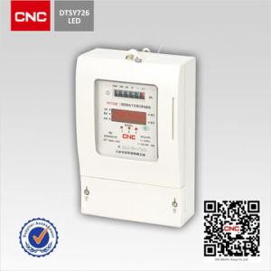 Трехфазный блок распределения питания электронных перевозчика Предварительно оплачиваемая доставка/предоплата цифрового счетчика электроэнергии (DTSIY726)