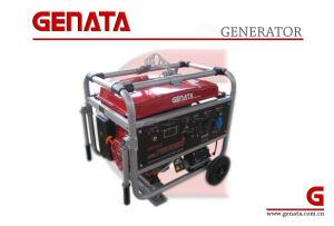 4 Tempos de arranque eléctrico Geradores de gasolina para uso doméstico (GR7500E-3)