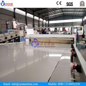 Vacío de PVC formando hojas de plantas de fabricación/máquina de hacer la hoja de perfil de PVC