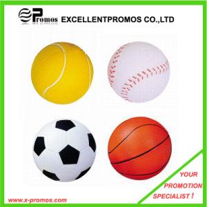 2015 principal producto nuevo colorido PU Deportes Bola de estrés (EP-PS1035)
