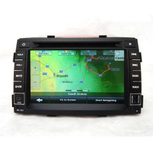 Audio unità di percorso del video DVD GPS dell'automobile per KIA Sorento R