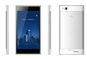 precio de fábrica del teléfono móvil inteligente de 5.0 pulgadas pantalla IPS Qhd, Android 4.4 teléfonos inteligentes, de cuatro núcleos 1.3 GHz celular